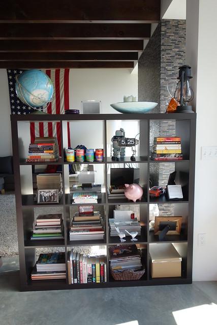 Ikea Expedit Room Divider 2013 Portland Modern Home Tour