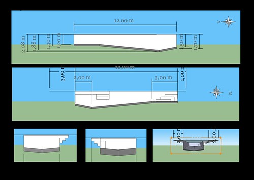 Projet piscine 8 frederik flickr for Bloc a bancher pour piscine