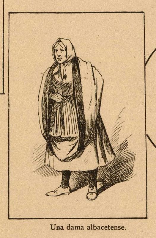 una dama de albacete