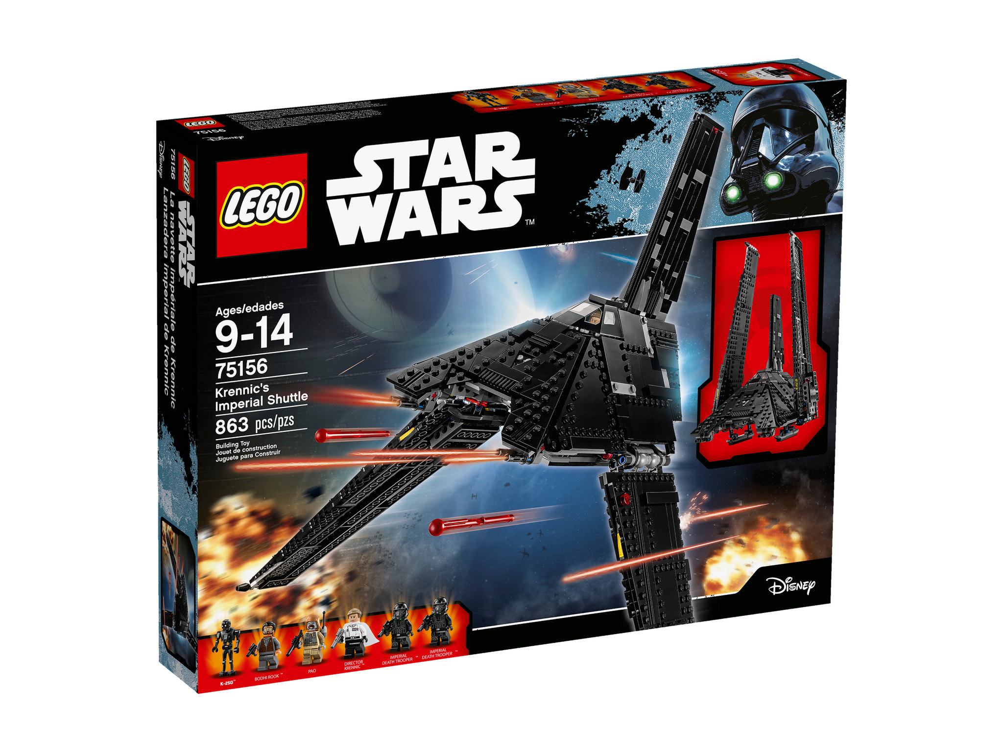 LEGO Star Wars 75156 - Krennic's Imperial Shuttle