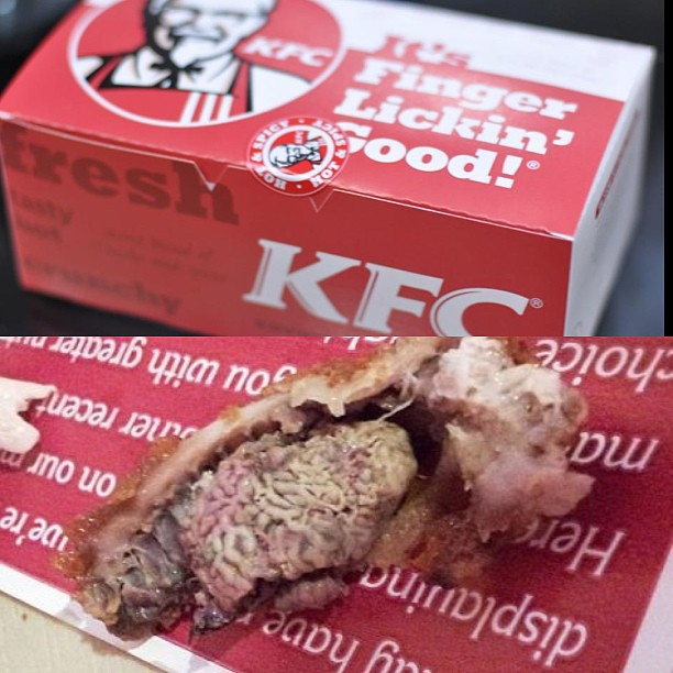 The Guy Who Got This Brain Nugget From #KFC Wasn't Hyped