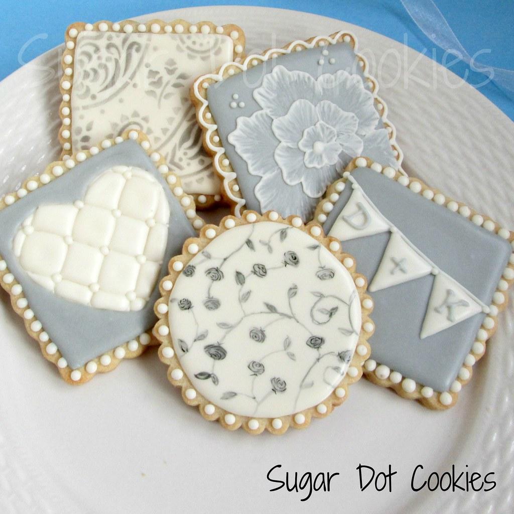 Wedding Sugar Cookies New Wedding Cookie Designs Sugardot Flickr