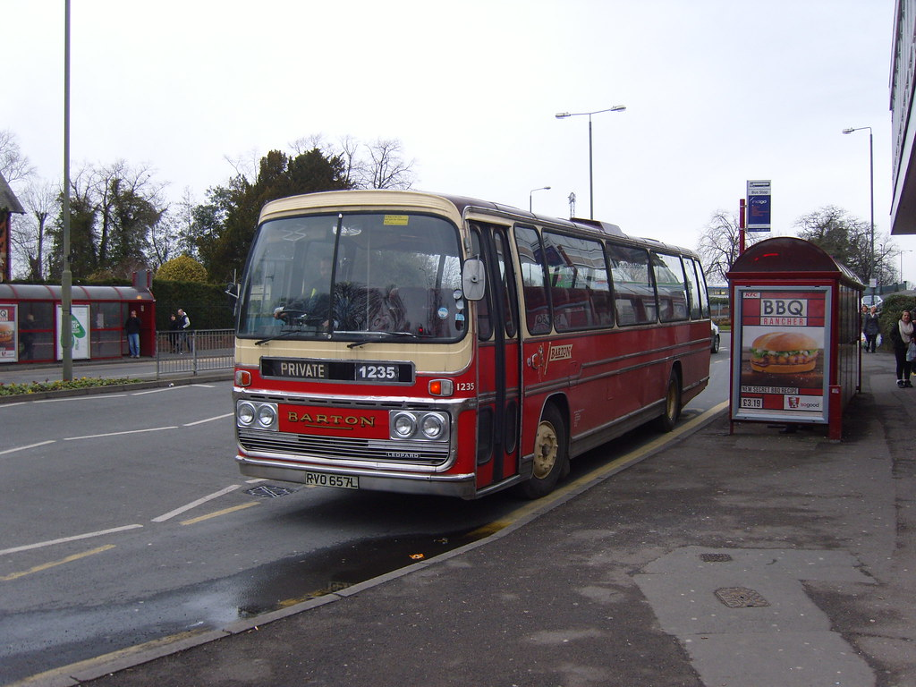 by old barton coaches Barton 1235 at long eaton derbyshire! | by old barton  coaches