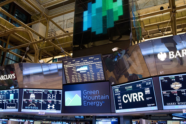 Green Mountain Energy NYSE Bell Ringing Floor Monitors | Flickr
