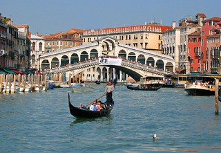By Gondola at the Rialto Bridge | by wbirt1