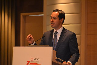 San Antonio Mayor Julian Castro and Delegation in Chennai | by US Consulate Chennai