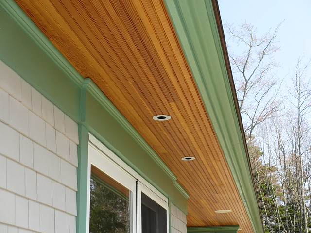 Exterior Trim And Beadboard Soffit Flickr Photo Sharing