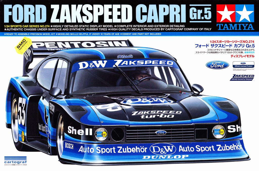 ford capri zakspeed turbo d w group 5 1980 drm tamiya. Black Bedroom Furniture Sets. Home Design Ideas