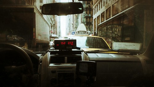 Taxi Cab Front View | by iakoubtchik