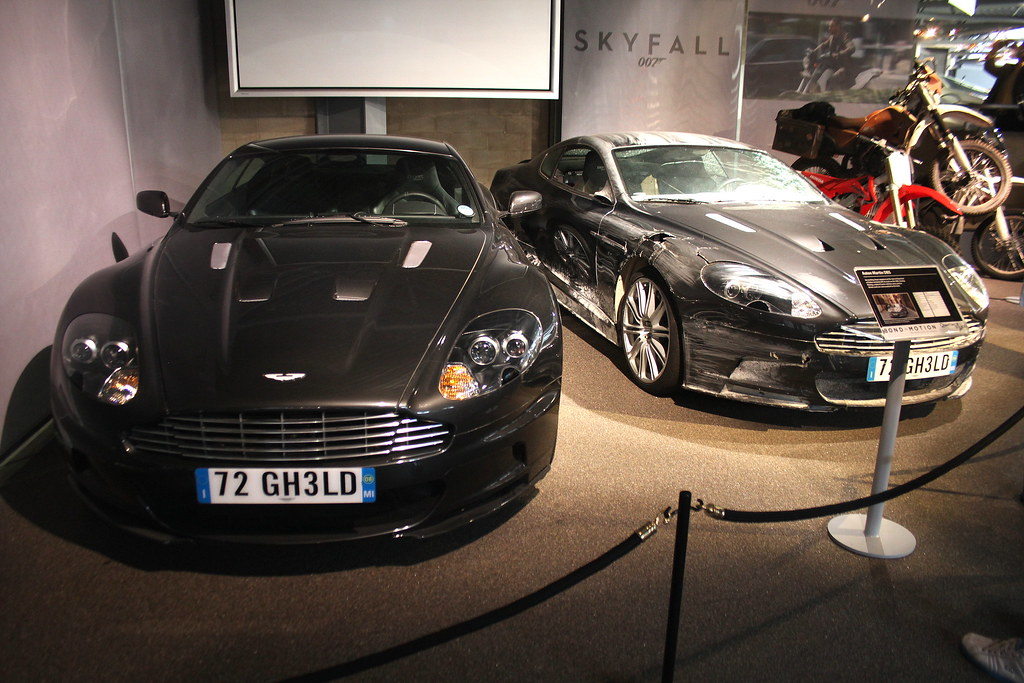 Aston Martin Dbs Bond In Motion National Motor Museum B