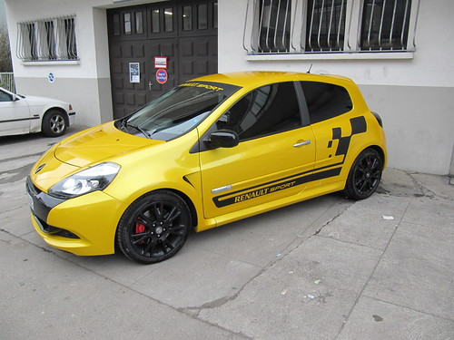 clio rs 3 cup polish et pose stickers renault sport estetik 39 cars flickr. Black Bedroom Furniture Sets. Home Design Ideas