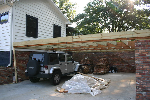This Homeowner Can Still Use Their Carport Under Their