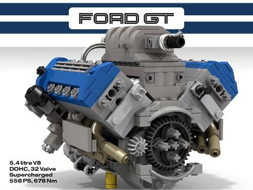 Ford Gt 5 4 Dohc Supercharged V8 Ford Gt Sounds Kinda
