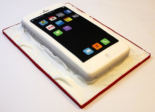 Iphone Cake Iphone Cake Made For My Dear Hubby Happy