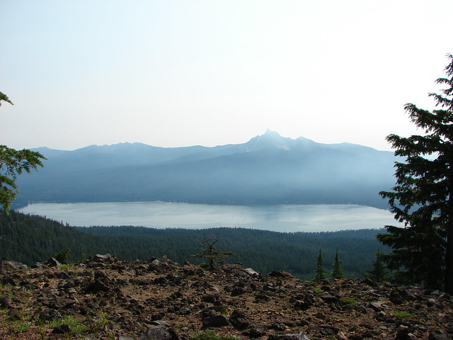 Diamond Lake, Tipsoo Peak, Howlock Mountain, and Mt. Thielsen