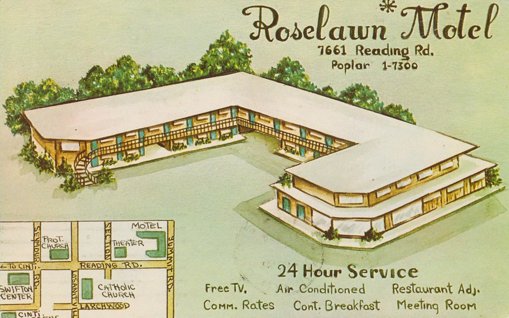 Roselawn Motel - Cincinnati, Ohio