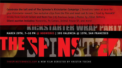 The Spinster Kickstarter Wrap Party | by Kristin Tieche
