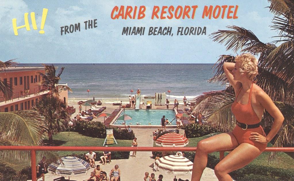 Carib Resort Motel - Miami Beach, Florida