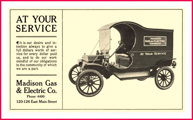 1912 At Your Service Early 1912 Model Truck Madison