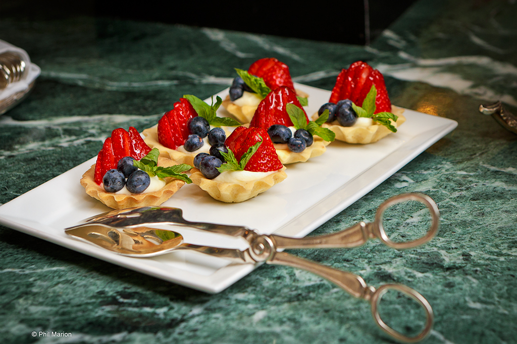 Brunch Dessert At Alvear Palace Hotel