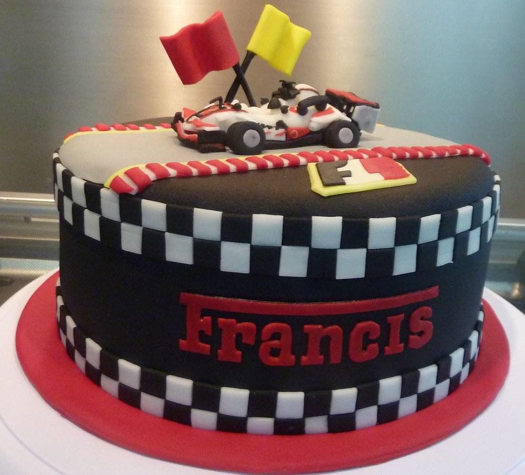 Formula One Birthday Cake