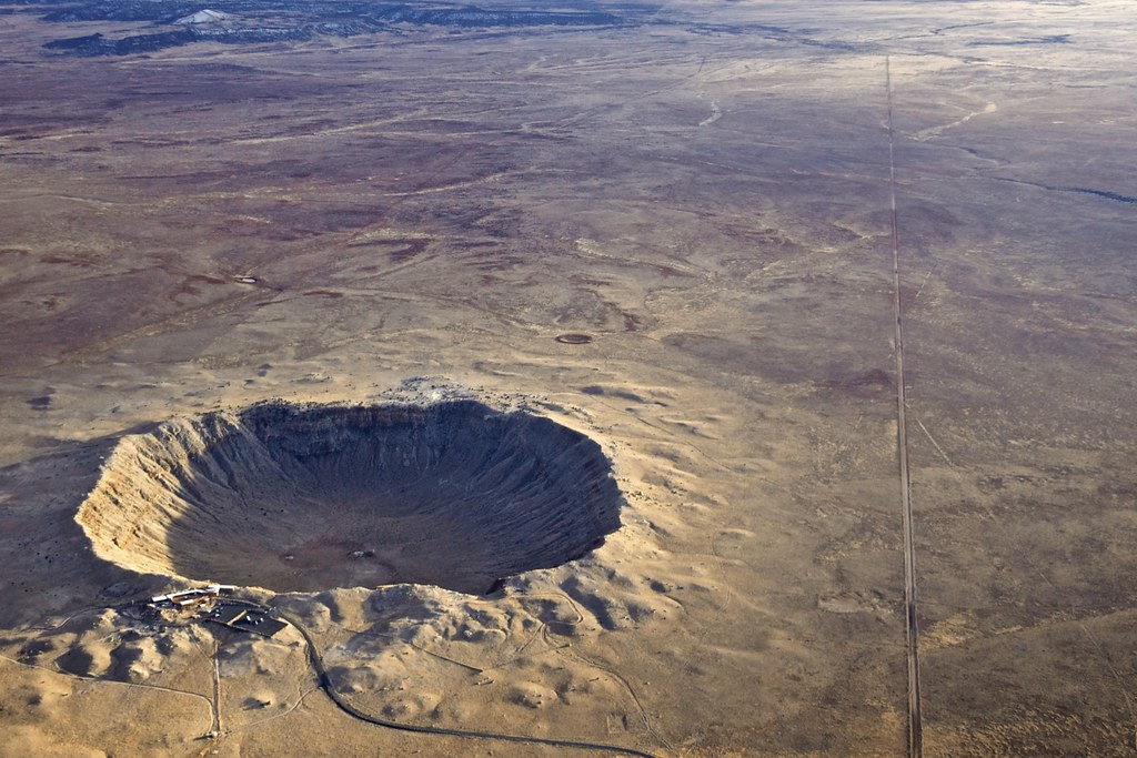 asteroid crater in mexico - photo #22
