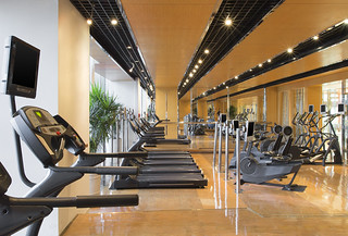 The Westin Bund Center, Shanghai—Fitness Center | by Westin Hotels and Resorts