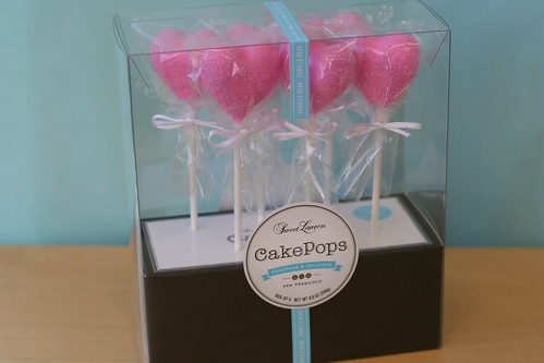 Pink Heart Cake Pops | by Sweet Lauren Cakes