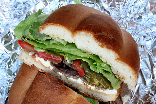 Torta de cecina, Las Palomas, West 100th Street, Manhattan | by Eating In Translation