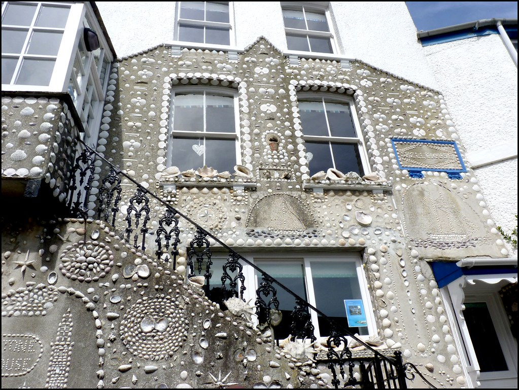 The shell house polperro cornwall the shell house is for House shell cost