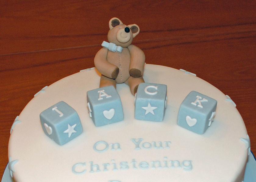 Christening Cake Topper Sylvania Cakes Exeter Flickr