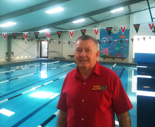 Laurie Lawrence at Banora Pool | by Laurie Lawrence