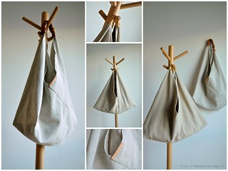 Triangle bag :: a tutorial | by // Between the Lines //
