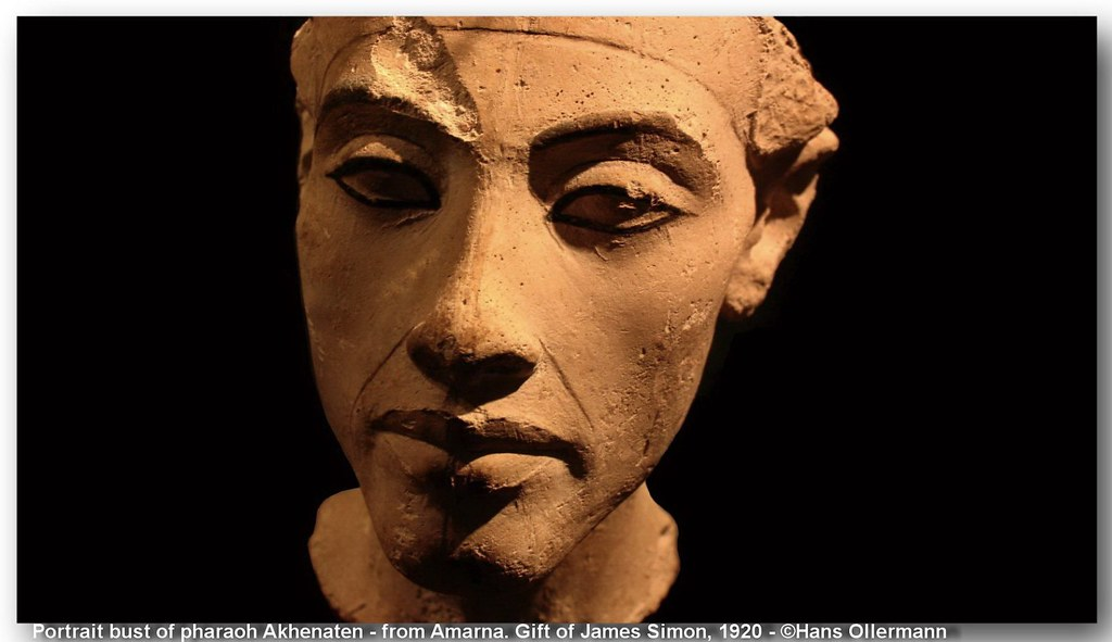 12 Head Of King Akhenaten From Amarna Stiftung