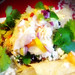 Lobster Nachos with Queso Fundido, Black Beans, Habaneros and Cotija Cheese