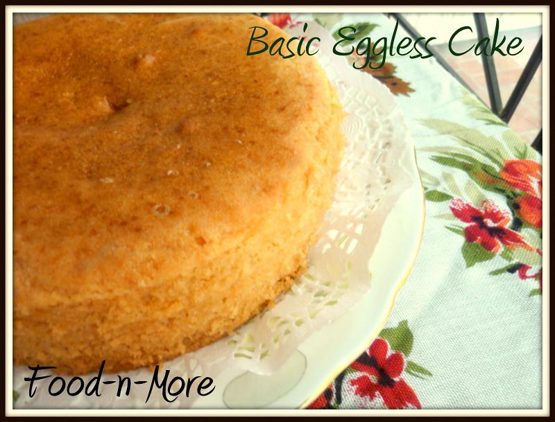 Egg Less Cake For Birthday
