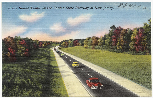 Shore Bound Traffic On The Garden State Parkway Of New Jersey Flickr Photo Sharing
