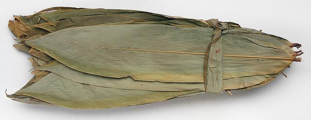 Gedroogd bamboeblad
