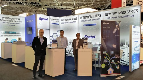 Egatel presents its new energy-efficient transmitters at the IBC in Amsterdam