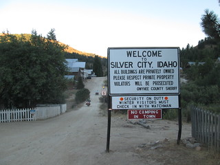 Welcome to Silver City, Idaho