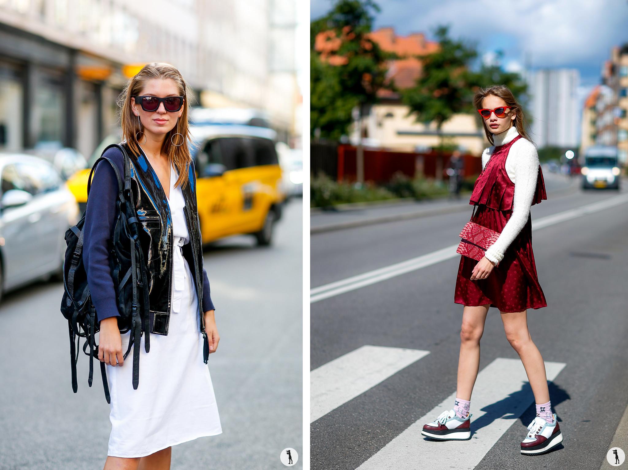 Street style - Copenhagen Fashion week SS17
