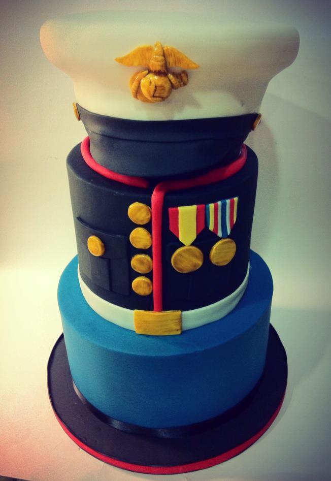 Marines Groom Cake Marines Groom Cake Modeled After The Gr Flickr