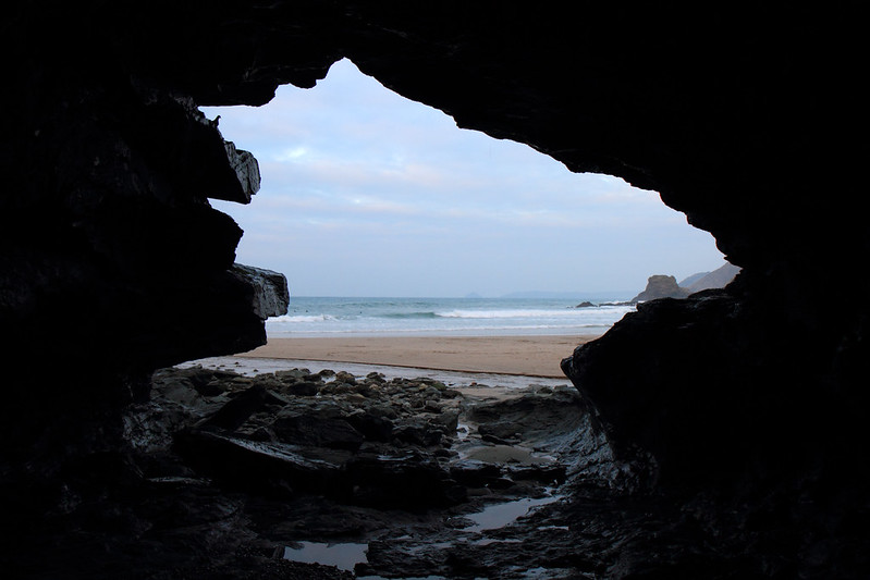 Sea cave at St Agnes