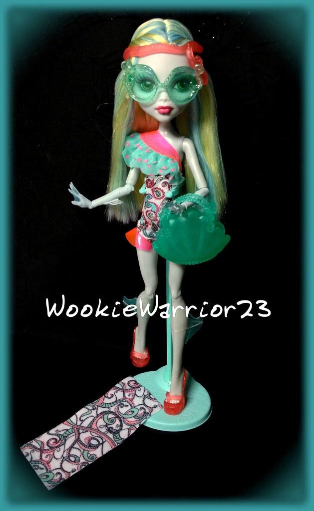 Monster High Lagoona Blue Swim Doll Swim Doll Lagoona Blue