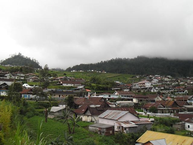 Indonésie Java-centre contreforts du Lawu près de Tawangmangu
