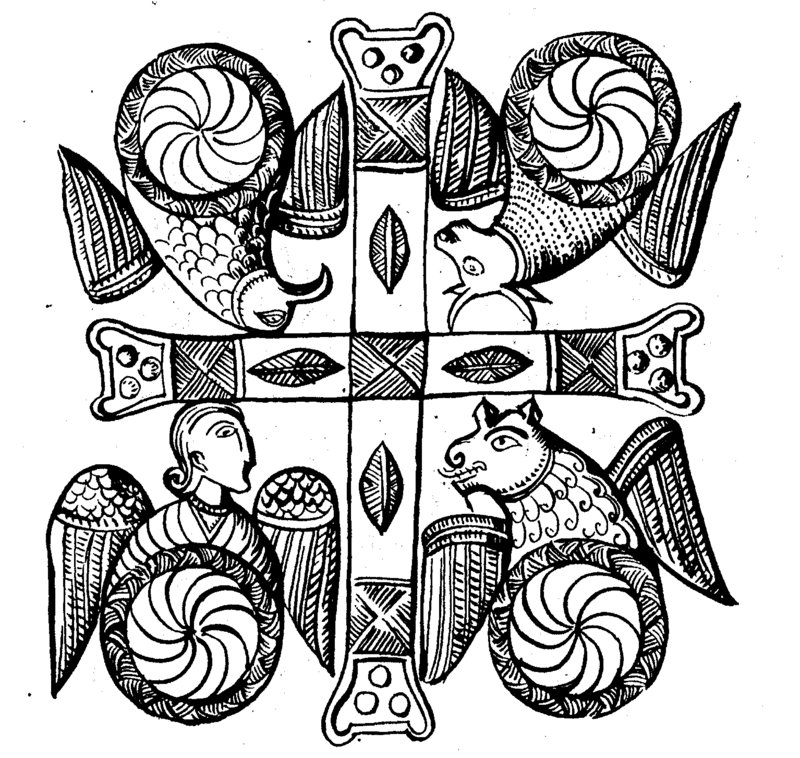 Doc170 The Symbols Of The Four Evangelists Matthew As W Flickr