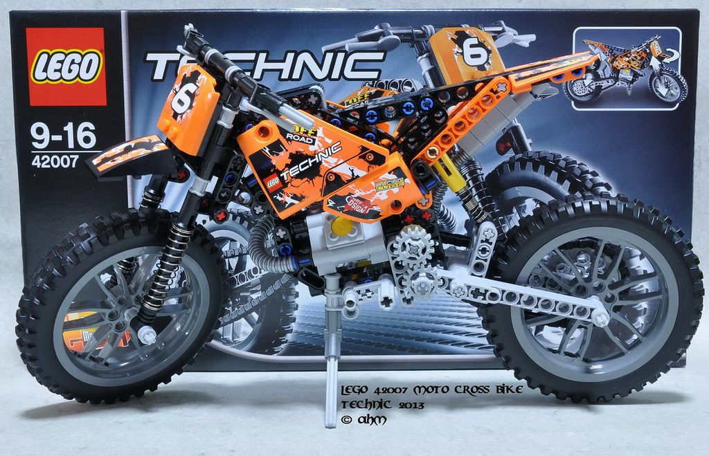 lego technic 42007 moto cross bike lego 42007 moto cross. Black Bedroom Furniture Sets. Home Design Ideas
