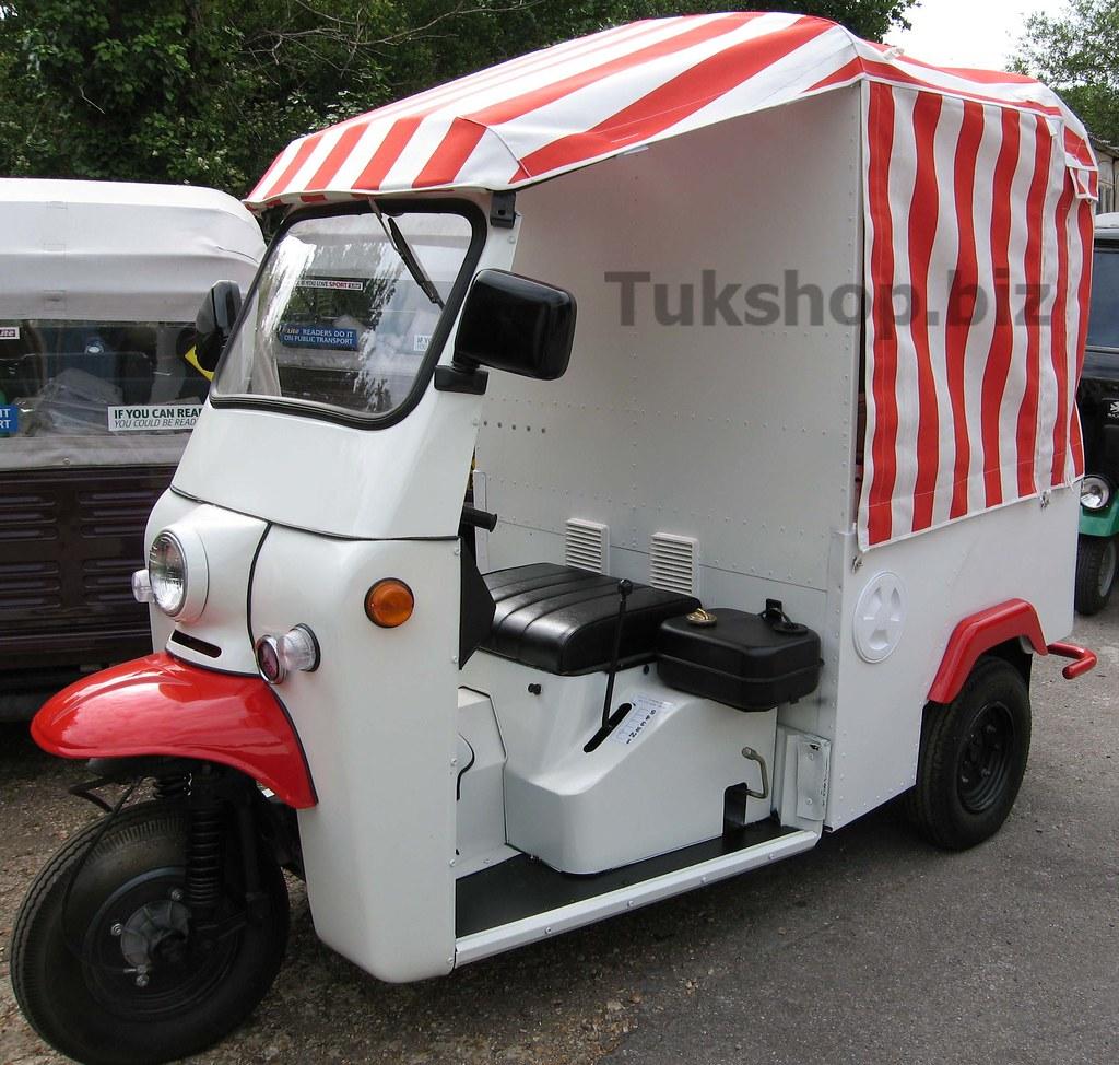 Tuk Ice Cream Van