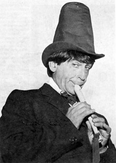 patrick troughton and his silly hat