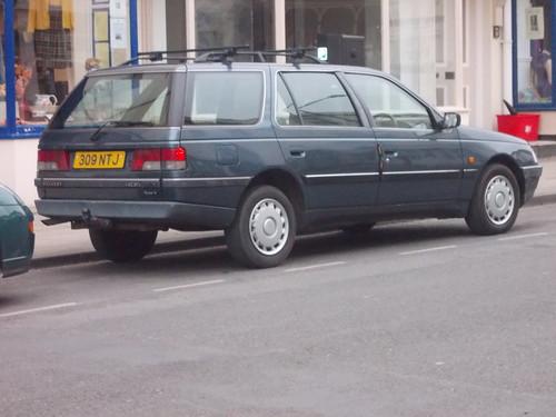 1994 peugeot 405 glx turbo diesel tax just renewed for ano flickr. Black Bedroom Furniture Sets. Home Design Ideas